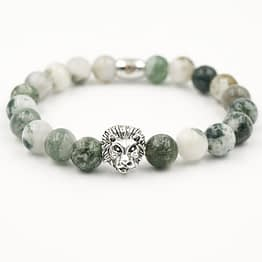 Löwenkopf Armband Yoga Armband